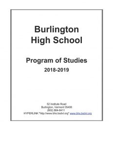 Program of Studies 18-19
