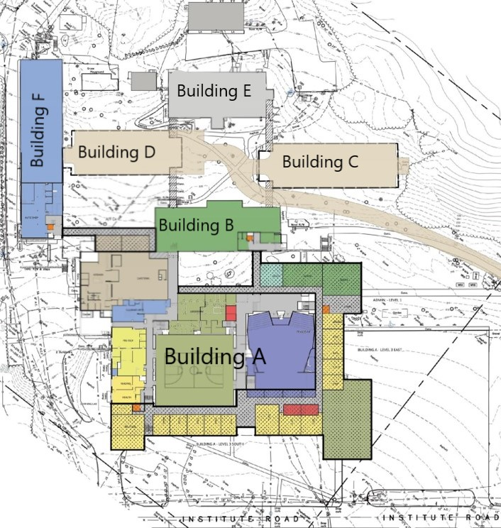 BHS Building Layout