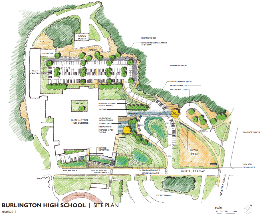 Preliminary Site Plan of BHS