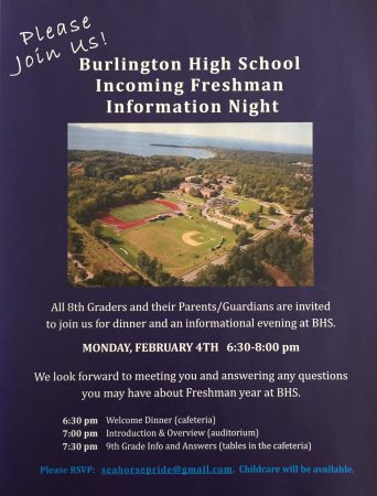 Incoming Freshman Info Night