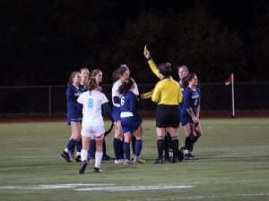 Soccer Team Gets Yellow Card
