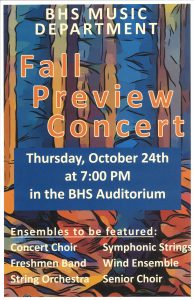 Fall Preview Convert poster