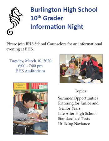 information night 10 grade